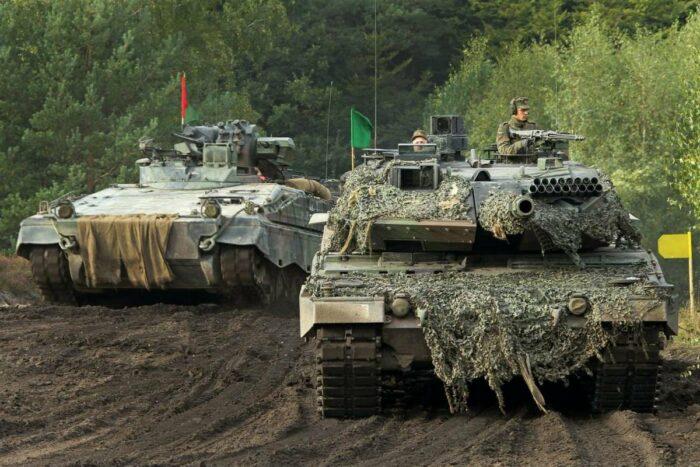 Боевая эффективность сухопутных войск Германии – развитие средств поражения