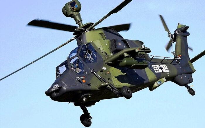 Ударный вертолет «Тигр» армейской авиации бундесвера