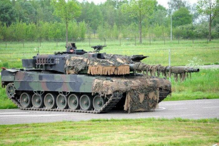 """Основной боевой танк """"Леопард 2А7"""""""