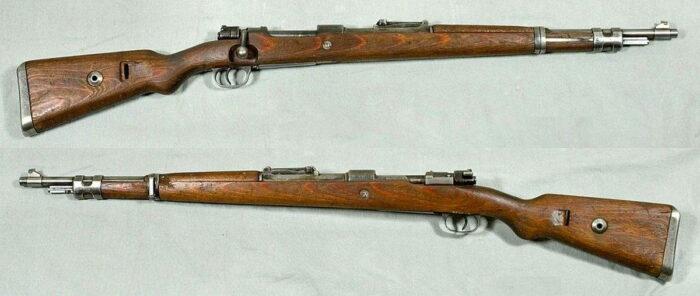 Немецкий карабин 98к (укороченный), выпуск 1934 г.