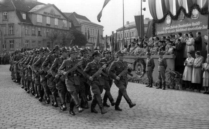StG 44 в народной полиции ГДР