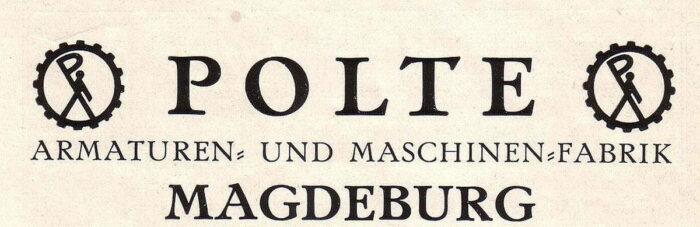 Логотип фабрики Polte, г. Магдебург