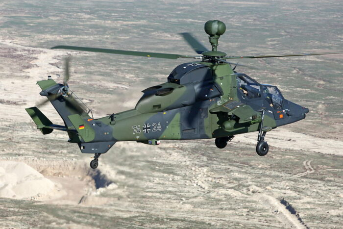 "Полет вертолета ""Тигр"" над Афганистаном"