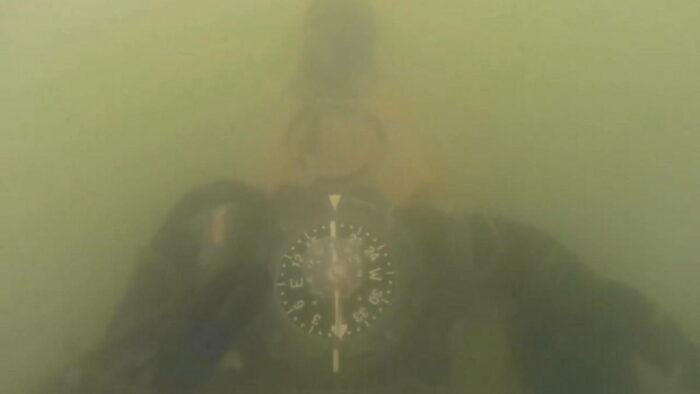Ориентирование под водой