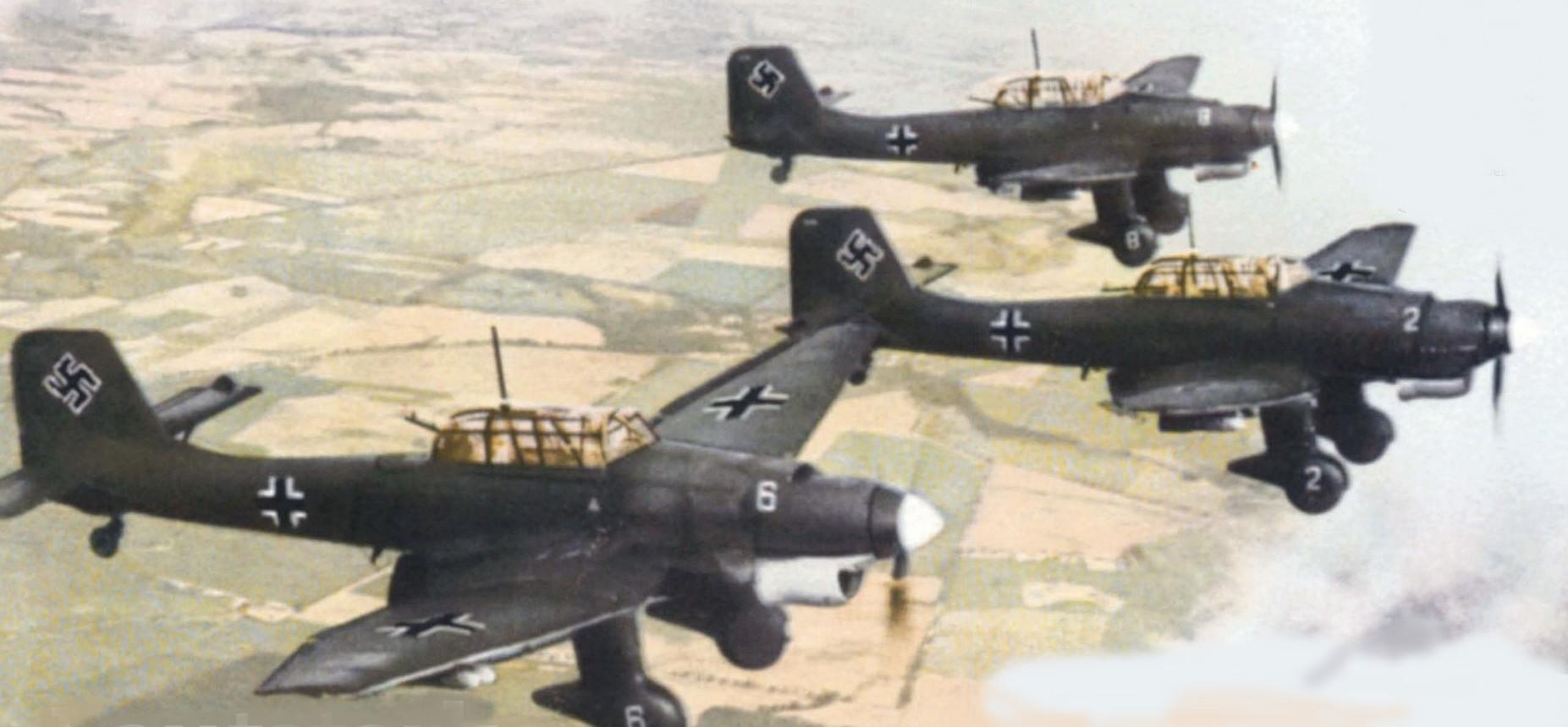Бомбы немецкой «Штуки» против стойкости Сталинградцев