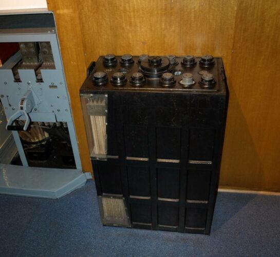 "Батарея аккумулятора электродвигателя пл типа XXI. Музей ""Вильгельм Бауэр""."