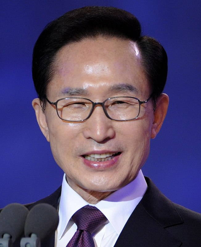 Президент Республики Корея Ли Мён Бак