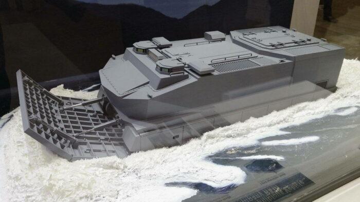 Прототип ВПБМ японского производства