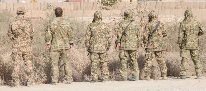 Камуфляж Multitarndruck в Афганистане