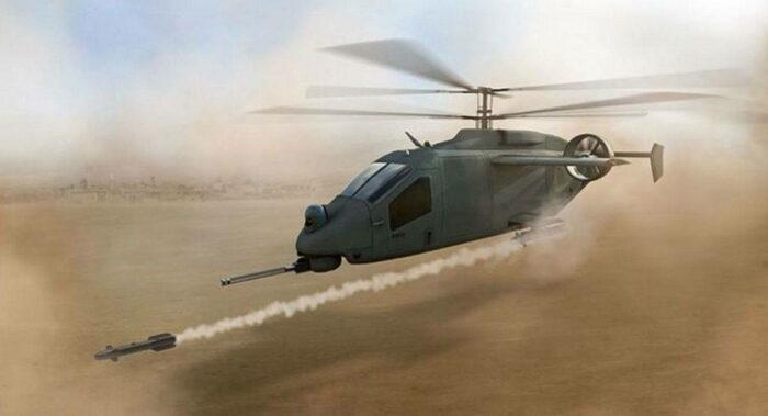 Перспективный разведывательно-ударный вертолет  от  AVX Aircraft