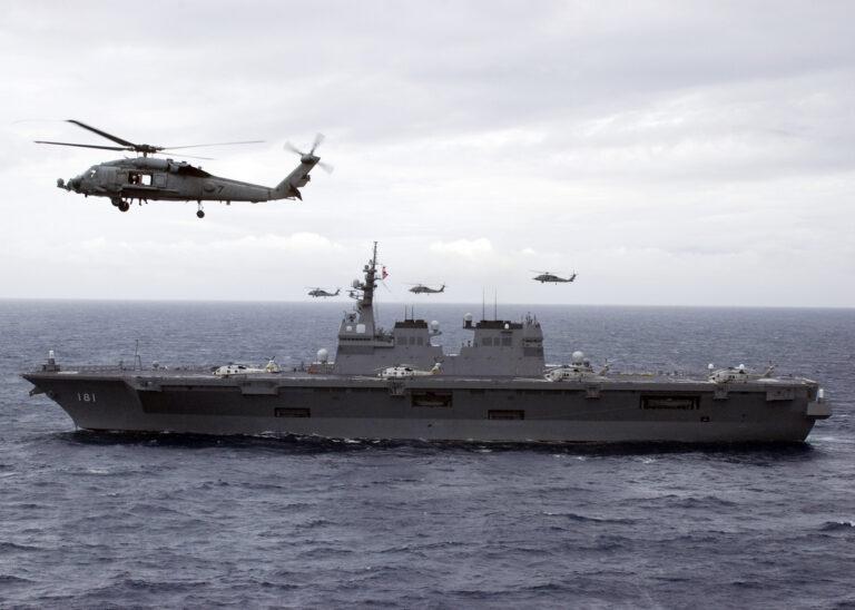 Развитие вертолетоносцев Японии: взгляд из Китая