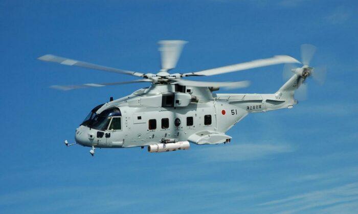 Вертолет МСН-101 МСС Японии