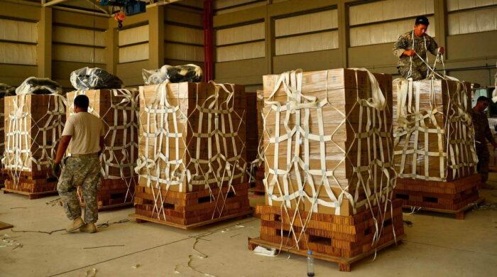 Подготовка грузов к десантированию
