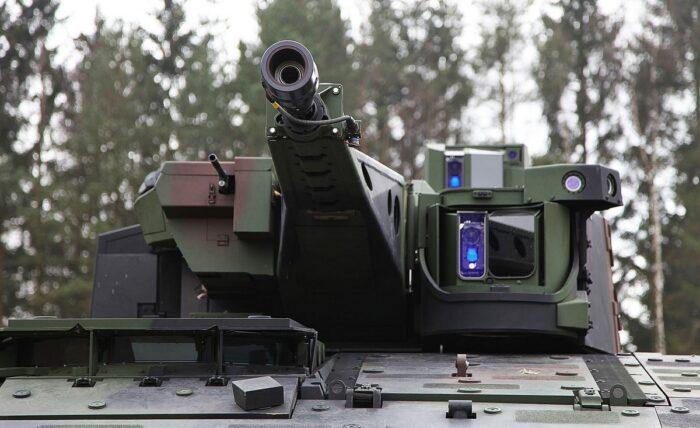 """Автоматическая пушка и спаренный пулемет БМП """"Пума"""""""