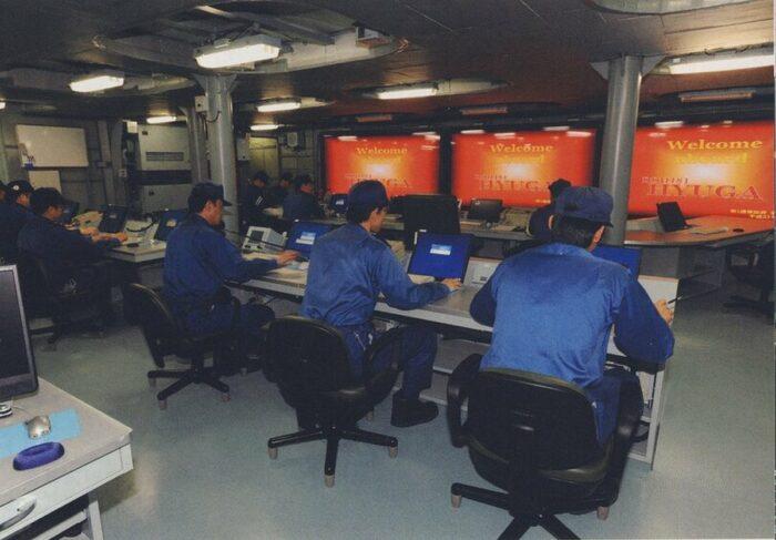 Флагманский командный центр ЭВ проекта 16DHH