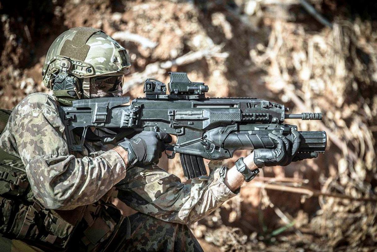 Израильская штурмовая винтовка «Кармель»