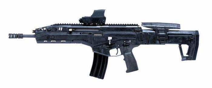 Штурмовая винтовка Carmel. Общий вид