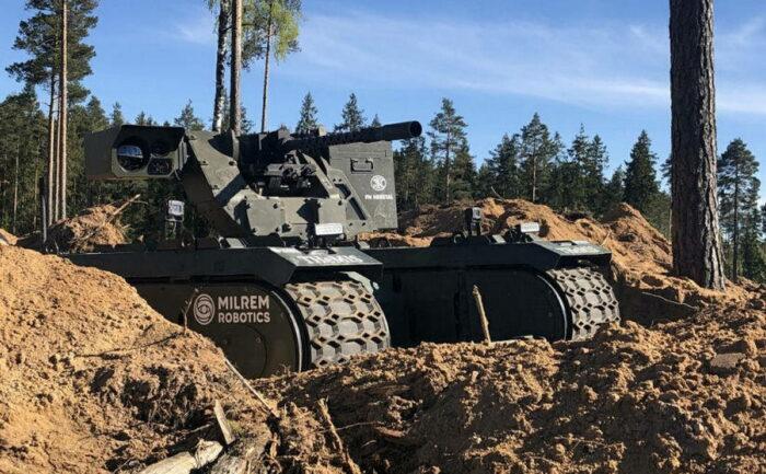 Беспилотный наземный аппарат для эстонского батальона