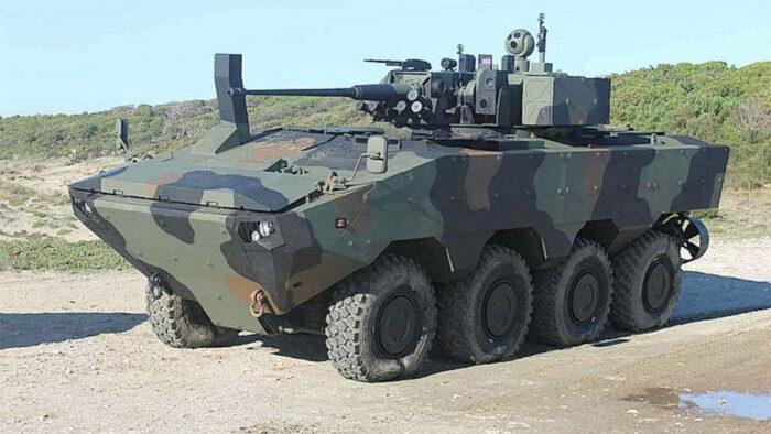 Базовая для ACV модель SuperAV от Iveco с 30 мм пушкой