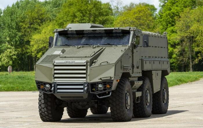 Бронеавтомобиль «Титус» для ВС Чехии