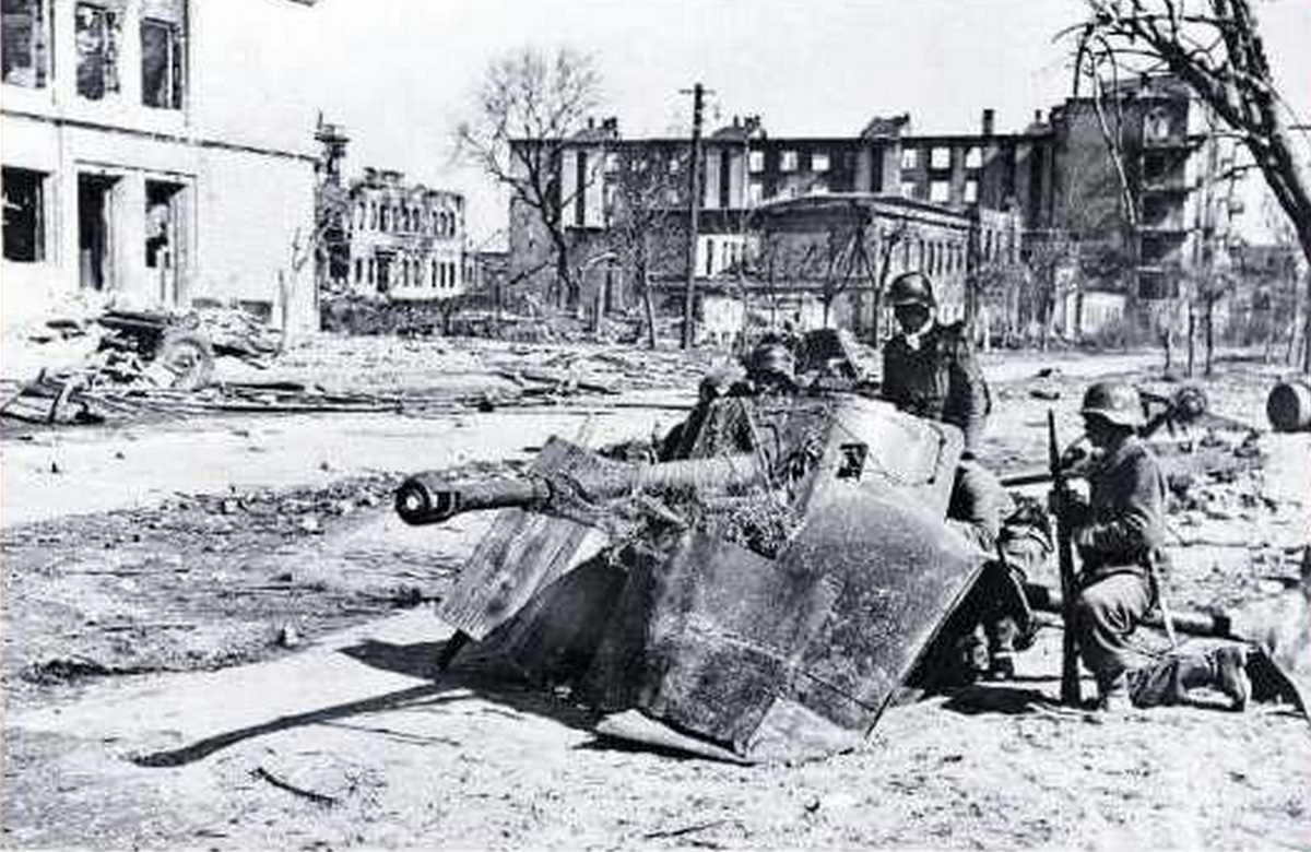 Уличные бои в Сталинграде – тактика вермахта