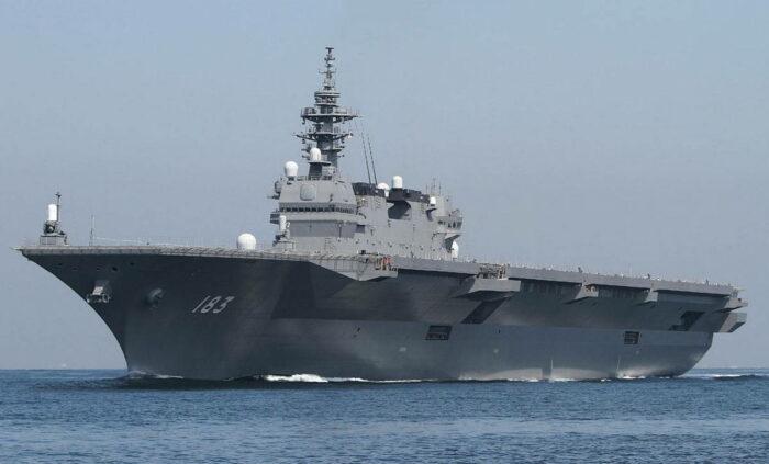 Вертолетоносцы Японии – наращивание потенциала