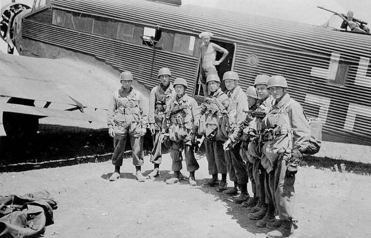 Десантники вермахта 1936-1945