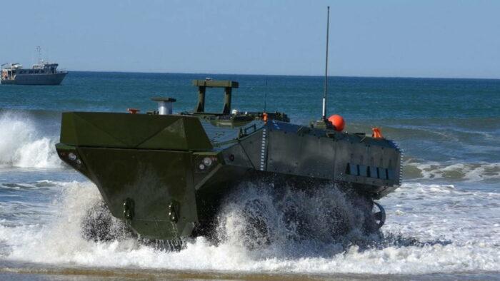 Новая боевая машина десанта КПМ США
