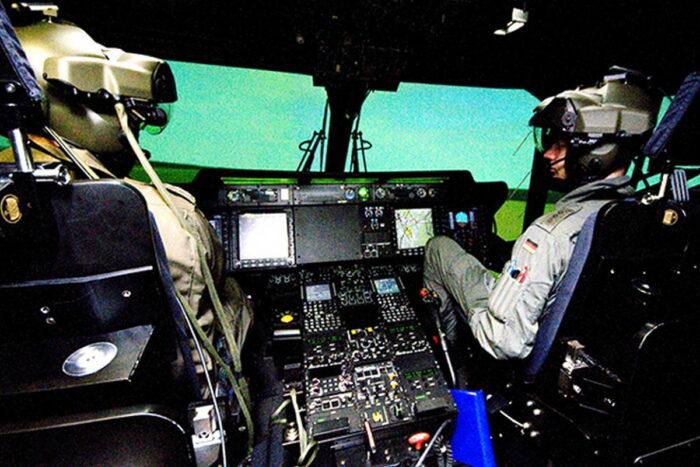 Летный тренажер вертолета NH-90