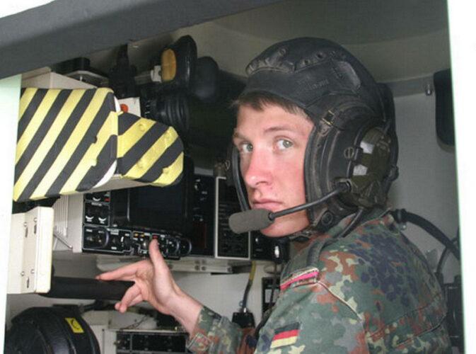 """Место обучаемого стрелкового тренажера для экипажей танка """"Леопард 2"""""""