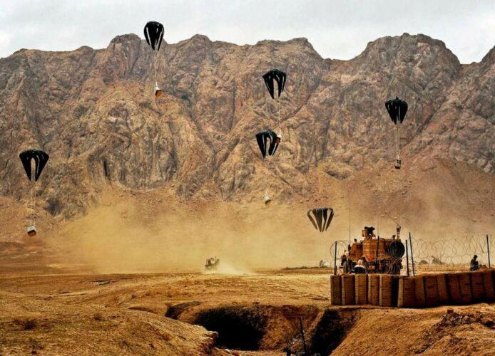 Применение одноразовой грузовой парашютной системы LCADS-HV