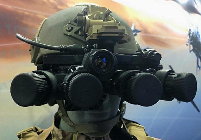 Комбинированные очки ночного видения для спецназа