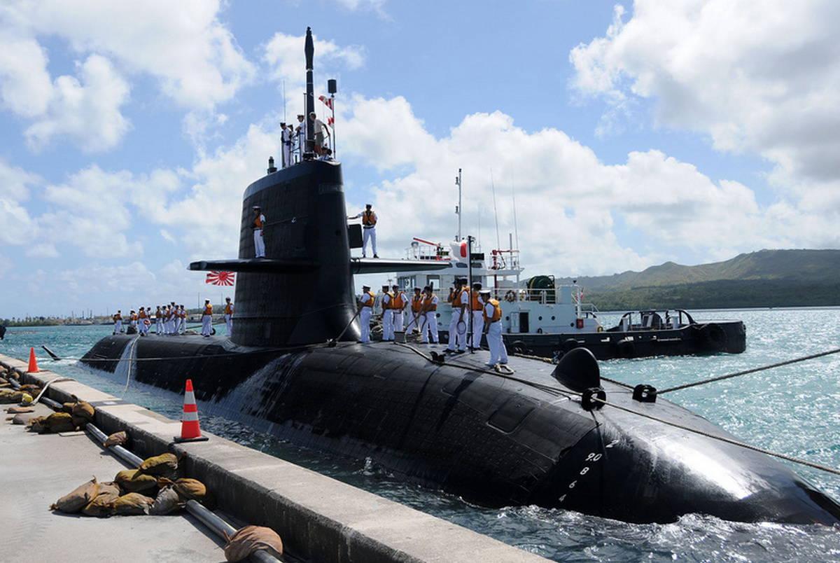 Подводная лодка Японии нового поколения