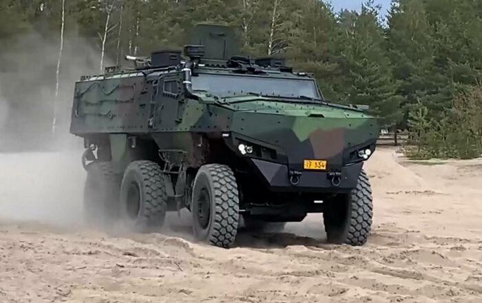 Защищенный автомобиль Protolab 6х6 PMPV