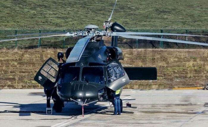 Новый военно-транспортный вертолет Z-20 ВМС НОАК