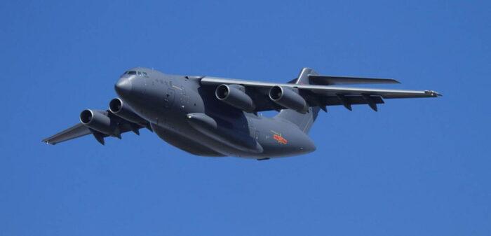 Китай переоборудует транспортный Y-20 в самолет-заправщик