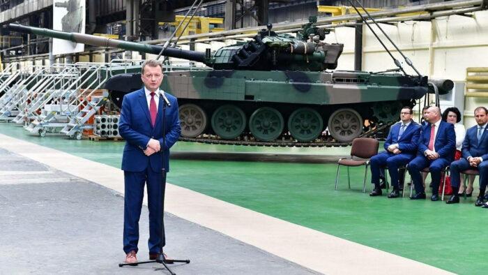 ВС Польши приступают к модернизации танков Т-72