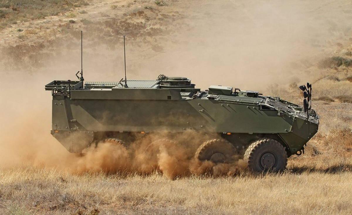 Испания закупила колесный БТР «Пиранья 5»