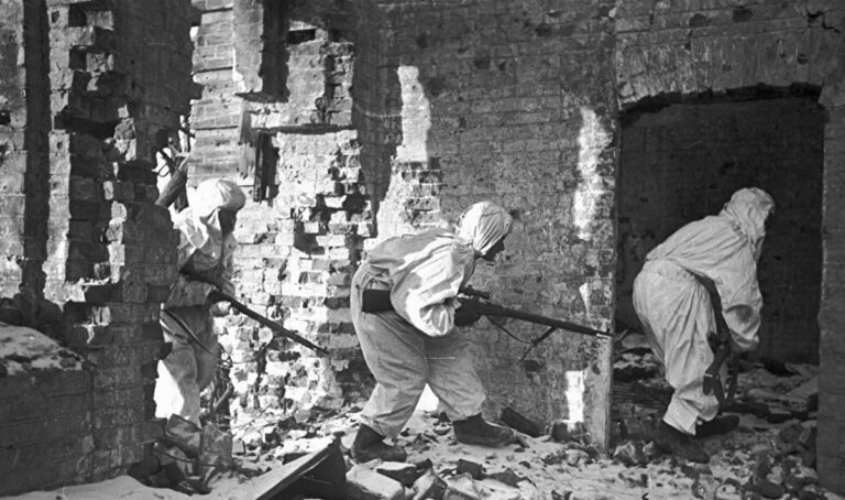 Бои в Сталинграде – схватка за каждый этаж