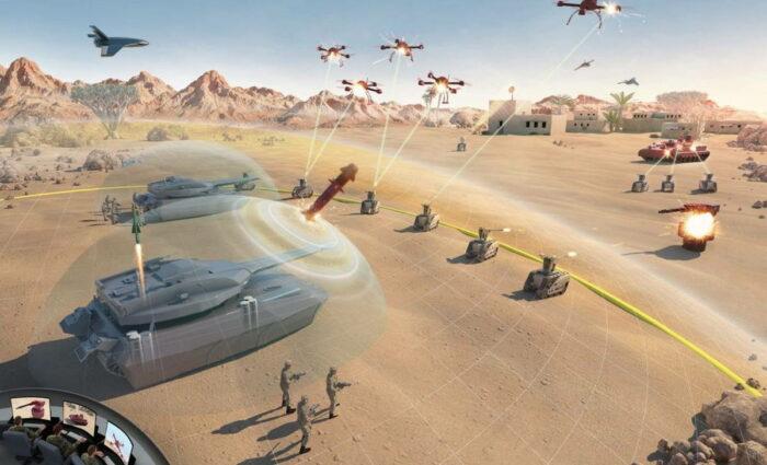 Боевая техника армии США следующего поколения