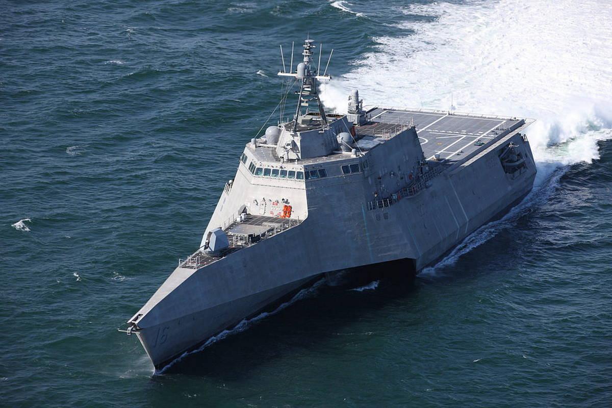 ВМС США получили новый корабль прибрежной зоны