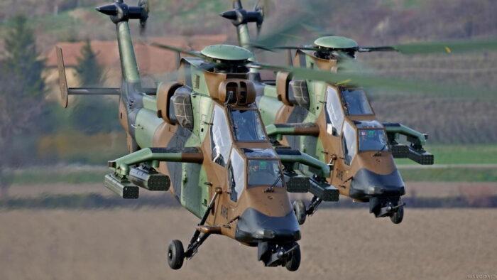 Вертолет «Тигр» обновляет арсенал