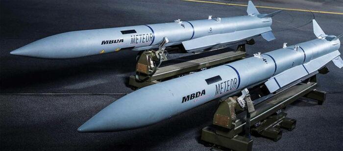 """УР """"Метеор"""" от компании MBDA"""