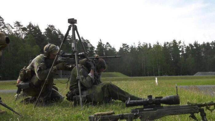 Снайперская группа. Стрельба при поддержке партнера.