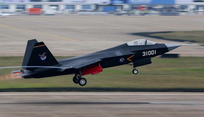 Новый самолет-невидимка ВВС Китая