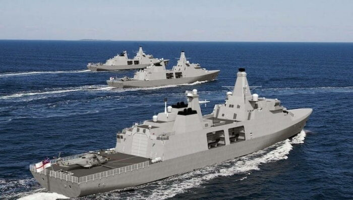 Определен подрядчик для британского фрегата тип 31