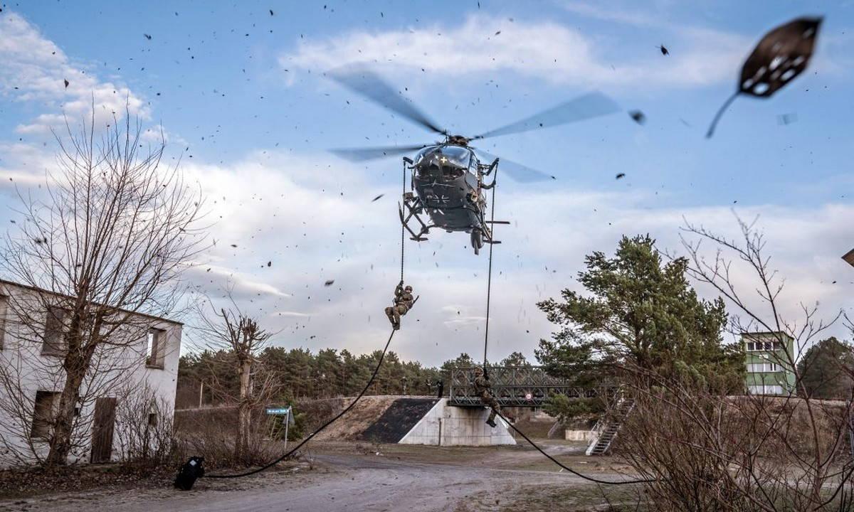 Бундесвер выбирает морской вертолет для ССО НАТО