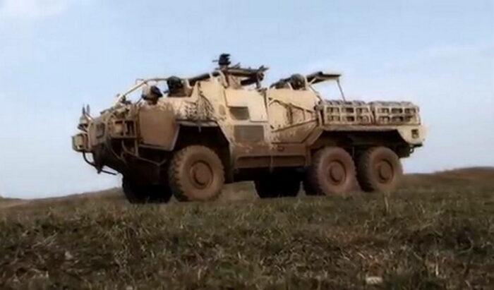 Автомобиль спецназа Supacat HMT Extenda Mk 2