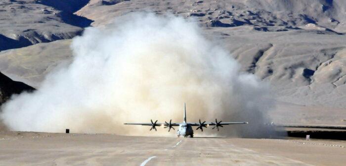 Самолет C 130J-30 Super Hercules  ВВС Индии