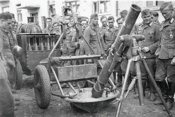 Немецкие минометы во Второй мировой войне